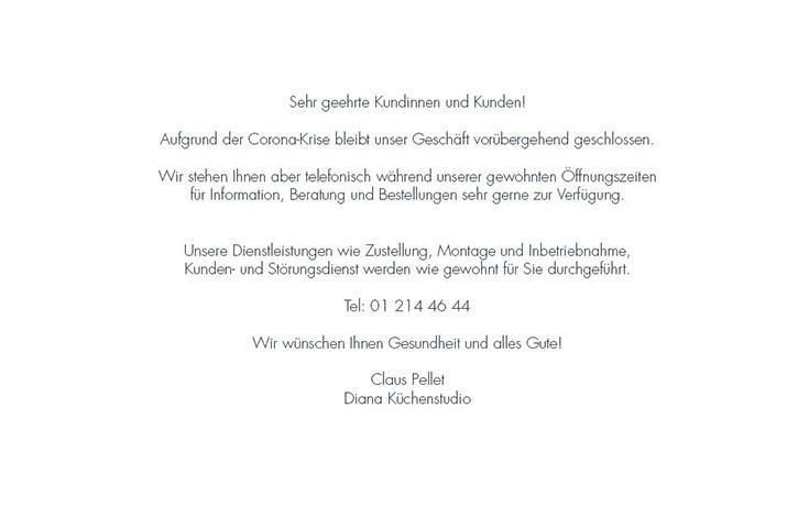Unser Geschäft ist vorübergehend geschlossen, stehen Ihnen aber telefonisch gerne zur Verfügung!