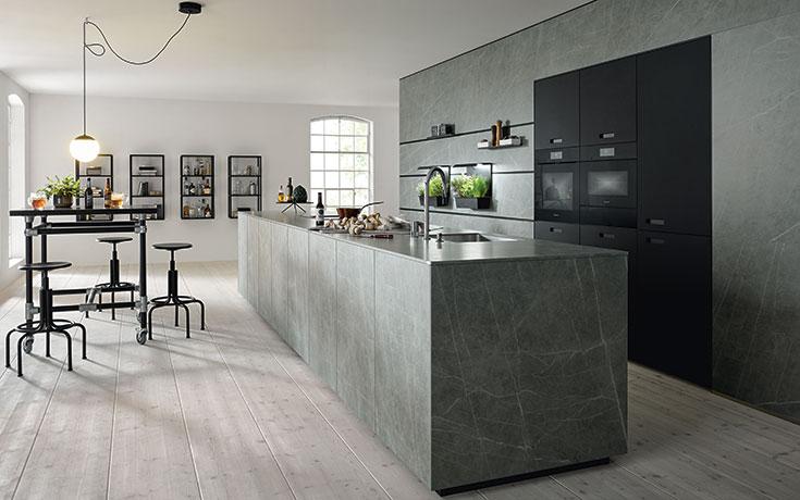 next125 Küche NX950 | NX902 Ceramic Marmor grigio Nachbildung